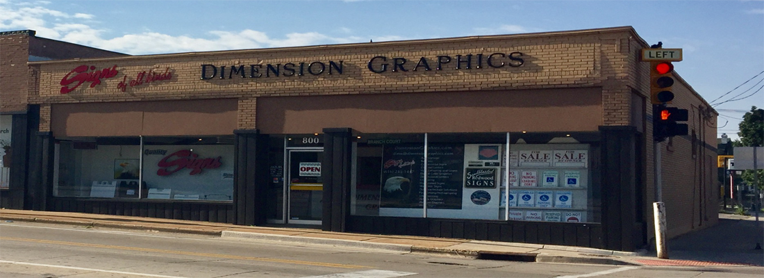 dimension graphics store
